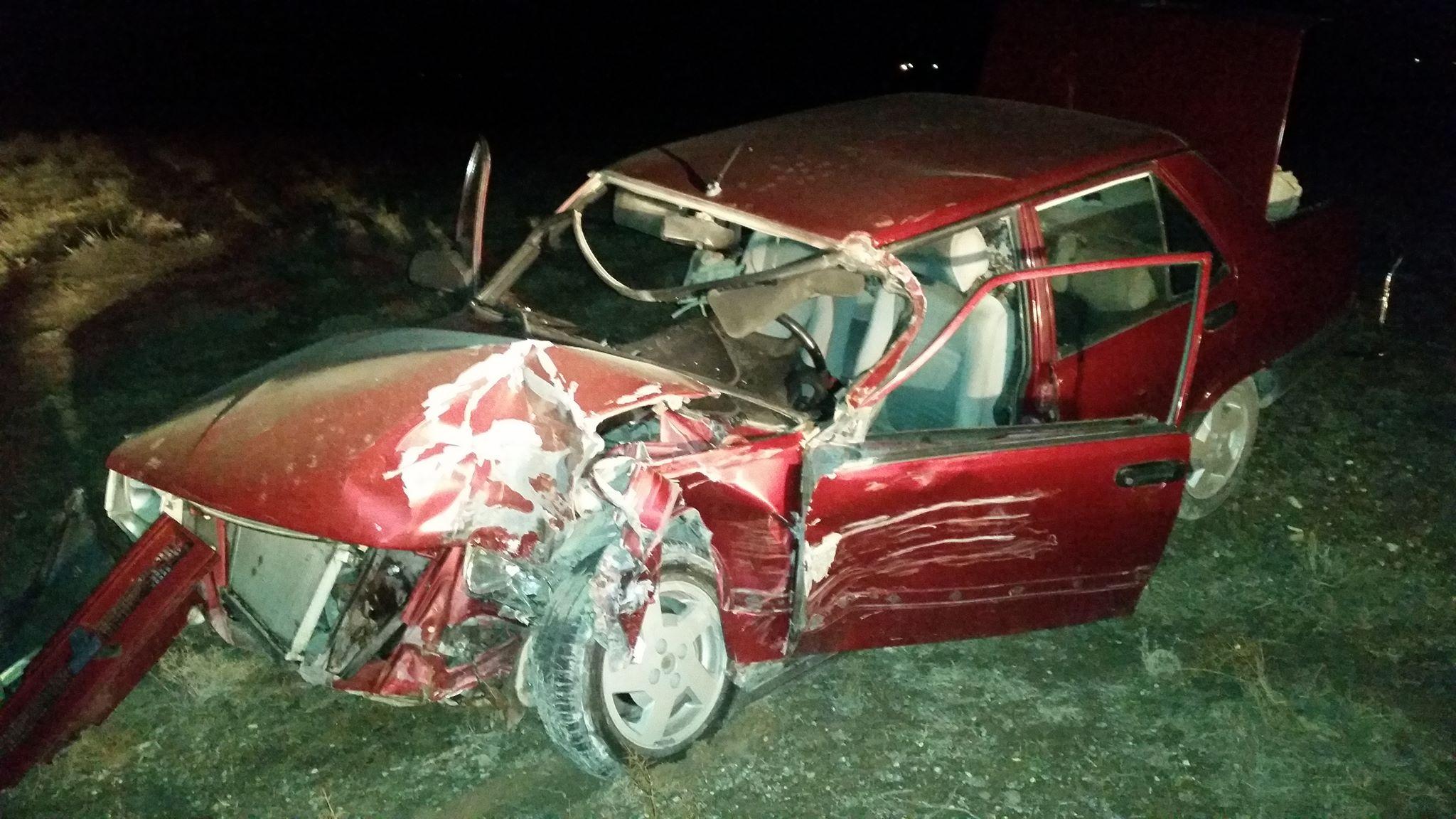 Karapınarda trafik Kazası:4 yaralı