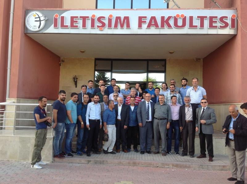 Vanlı Gazeteciler Konya'yı gezdi