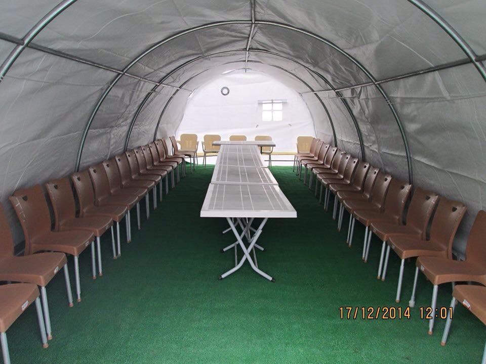Belediyeden taziye çadırı