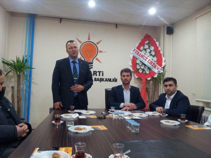 Milletvekili aday aday'ı Ertan'dan basın toplantısı
