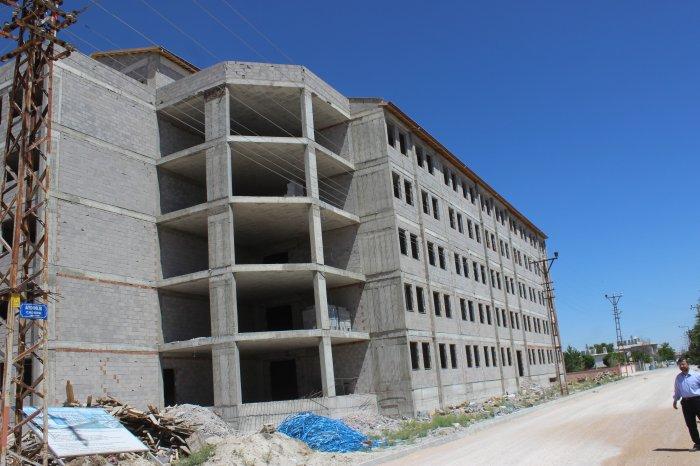 Merkez Kuran Kursu inşaatı devam ediyor