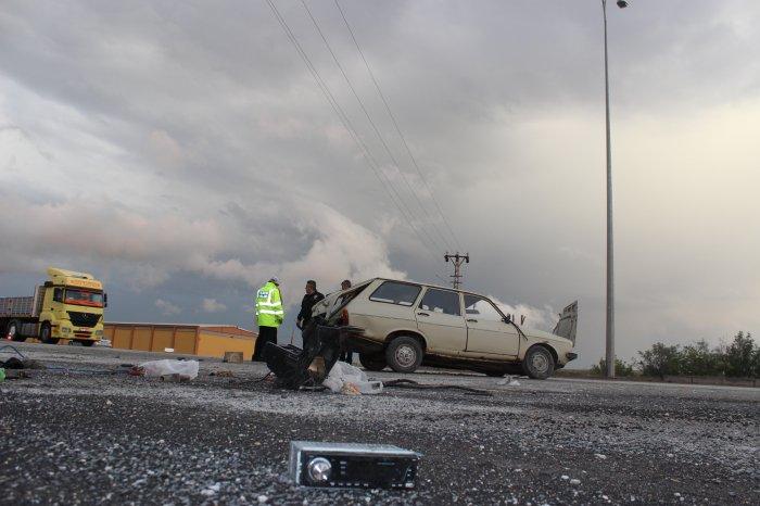 İftar öncesi feci kaza:1 Ağır ayaralı