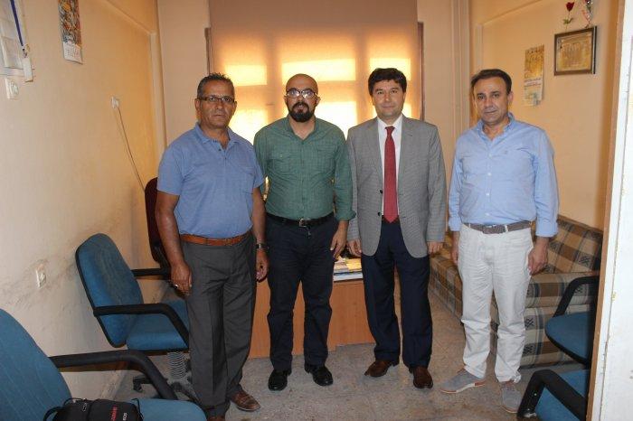 Prof Dr Özcan'ten ziyaretler