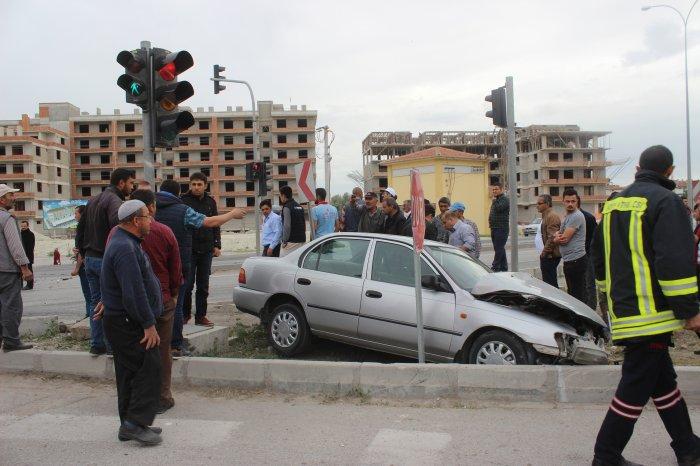 Kazada 8 kişi yaralandı