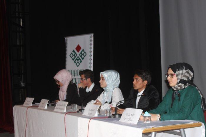 Anadolu mektebi okur yazar buluşması