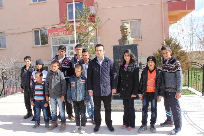 Emirgazili çocuklar Konyaspor maçında