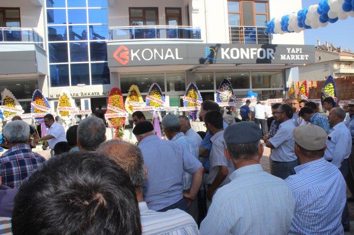Konfor yapı açıldı