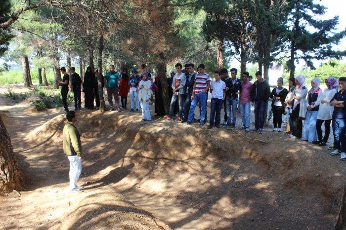 Öğrenciler Çanakkale şehitliği gezdiler