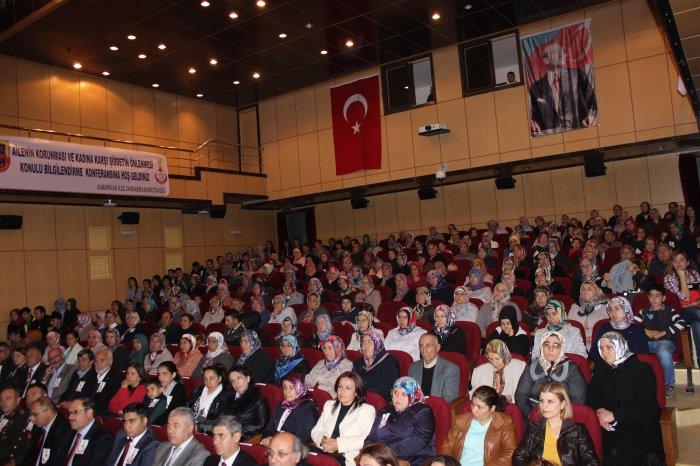 Jandarmadan Anlamlı konferans