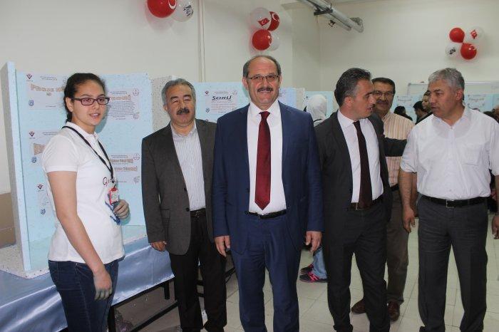 TOKİ Yavuz Selim bilim fuarı açıldı
