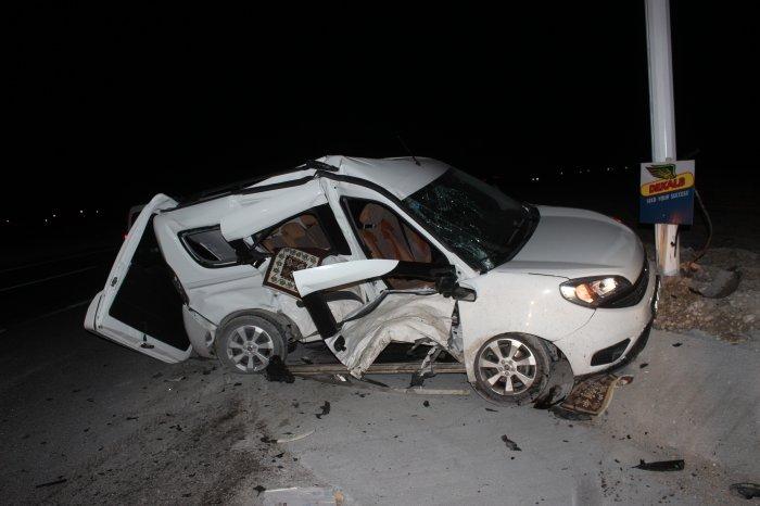 Feci kaza:5 yaralı