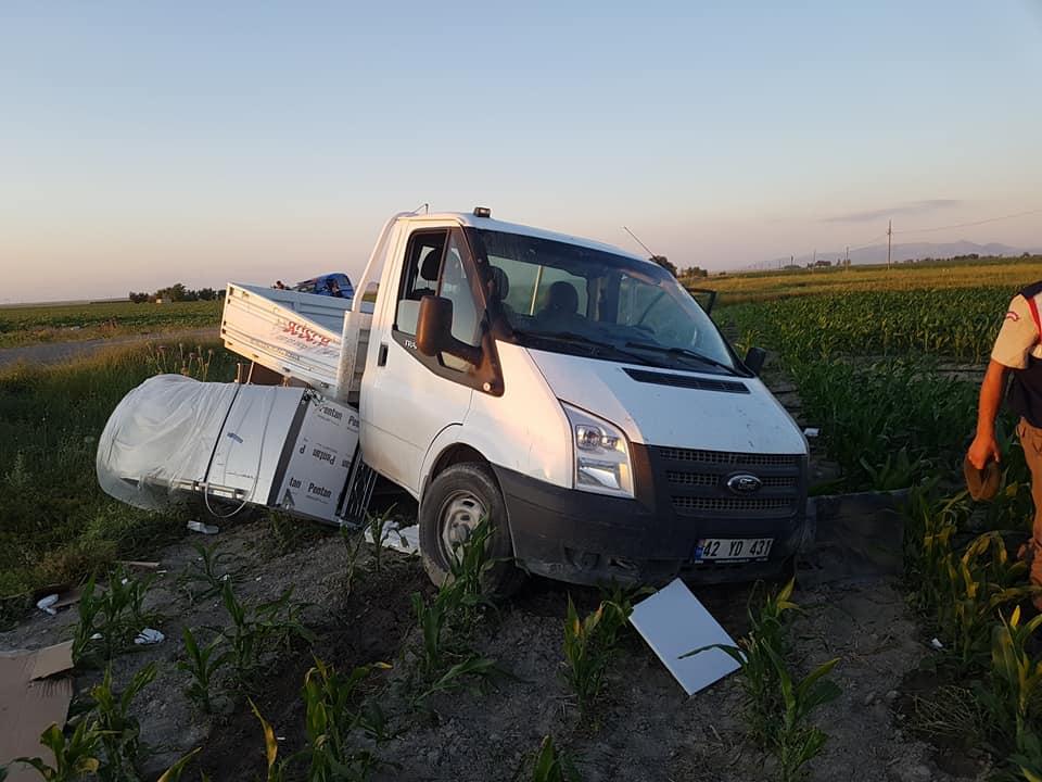 Karapınanarda kaza :3 yaralı