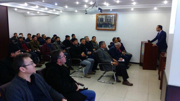 Mesleki yeterlilik bilgilendirme toplantısı